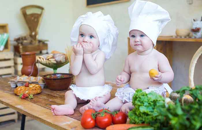 ۱۰ غذای سالم برای از شیر گرفتن کودکان