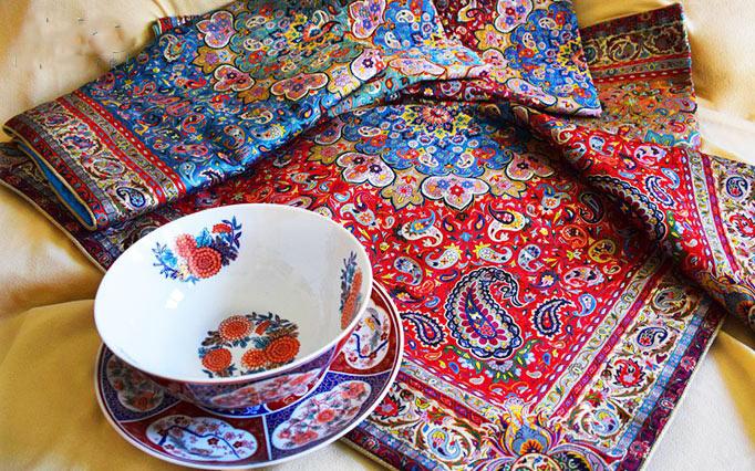 پارچه ترمه ؛ تاریخچه و تار و پود این هنر ایرانی
