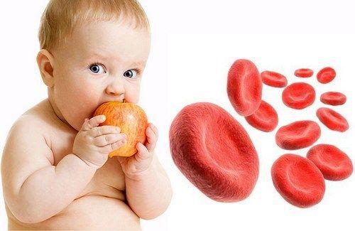 کم خونی کودکان و راه های درمان آن