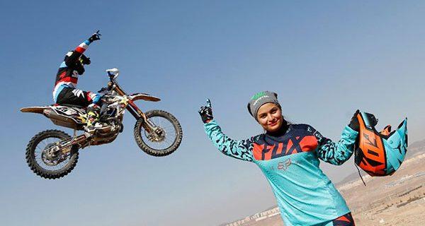 افسانه جباری؛ بانوی اول موتورسواری ایران