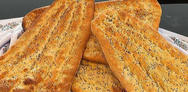 طرز پخت نان بربری!