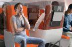 طراحی جدید صندلی هواپیما، در دوران کرونایی