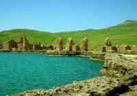 دریاچه تخت سلیمان، یک دریاچه اسرارآمیز!