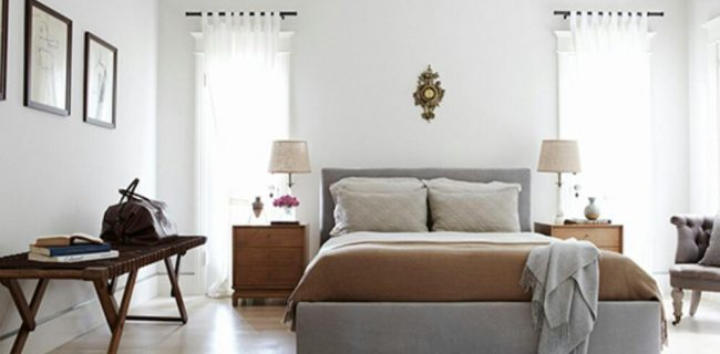 ۶ ترفند بدون هزینه برای بزرگتر کردن اتاق خواب!