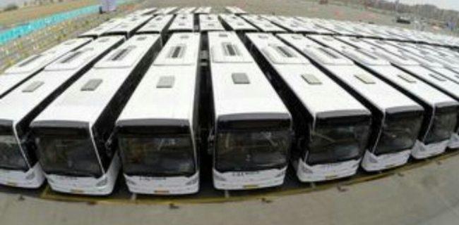 محل نشستن و ایستادن در اتوبوس های پایتخت!