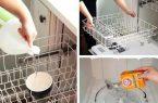 چگونه ماشین ظرفشویی خود را تمیز کنیم؟