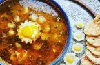 اشکنه  خوراک سنتی ایرانی!