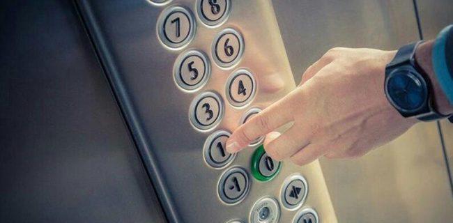 راههای جلوگیری از انتقال ویروس کرونا در آسانسور!