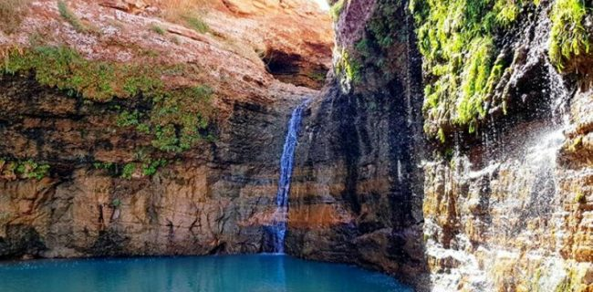 کشیت، آبشاری در دل کویر!