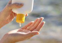 فواید استفاده از کرم ضد آفتاب
