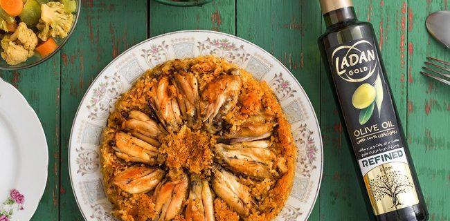 طرز تهیه ارمنی پلو با بال مرغ