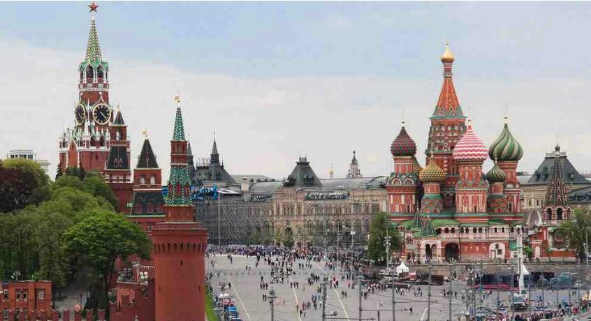 میدان سرخ در قلب مسکو!!
