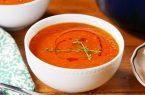 سوپ گوجه فرنگی مقوی و مخصوص فصل پاییز